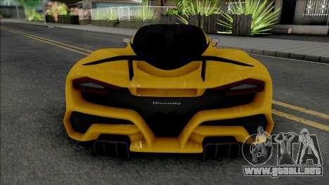 Hennessey Venom F5 2020 para GTA San Andreas