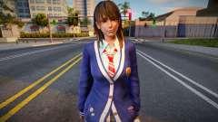 DOAXVV Nanami - Autumn School Wear para GTA San Andreas