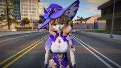 Lisa from Genshin Impact para GTA San Andreas