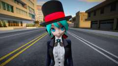 PDFT Hatsune Miku Magician para GTA San Andreas