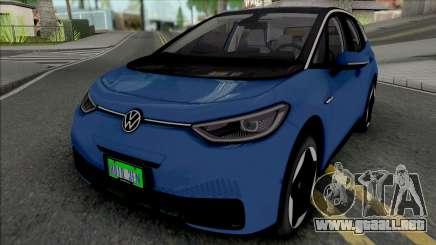 Volkswagen ID.3 2020 para GTA San Andreas