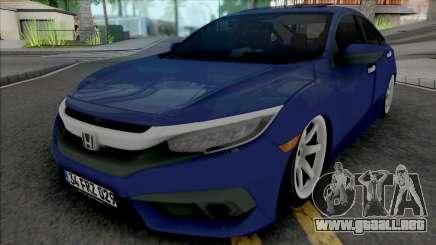 Honda Civic FC5 para GTA San Andreas