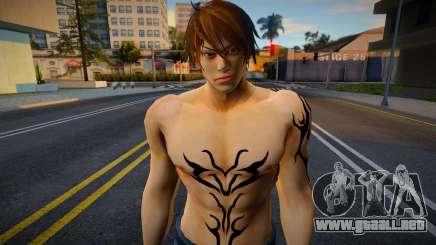Shin Casual Tekken (Bad Boy 5) para GTA San Andreas