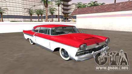 Ford Custom 1956 Coupé (Smith Custom Mafia II) para GTA San Andreas
