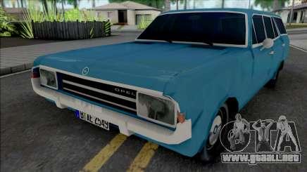 Opel Rekord C Caravan 4 Doors 1969 para GTA San Andreas