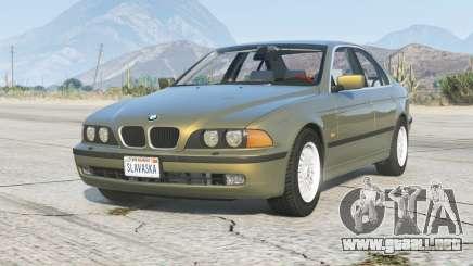 BMW 535i Sedán (E39) 1998〡add-on v1.6 para GTA 5