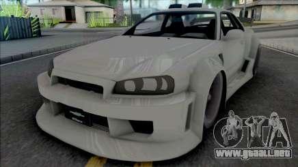 Nissan Skyline GT-R Tuning (NFS Underground 2) para GTA San Andreas