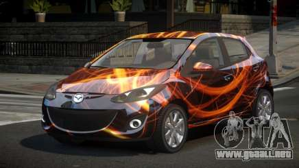 Mazda 2 U-Style S4 para GTA 4