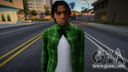 Grove Street Families HD (FAM2) para GTA San Andreas