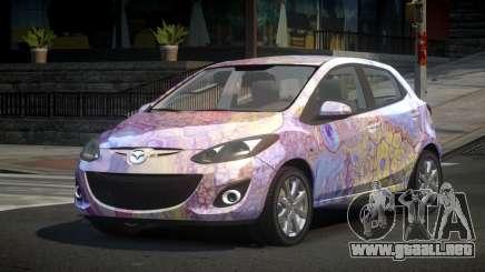 Mazda 2 U-Style S8 para GTA 4