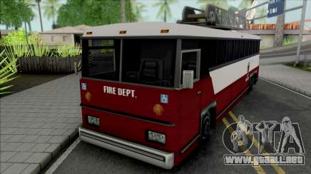 Fire Bus para GTA San Andreas