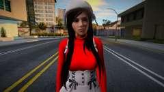 Monki Red Dress 2 para GTA San Andreas