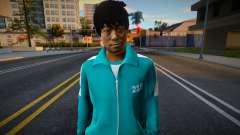 Male Random Tracksuit 218 Squid Game para GTA San Andreas