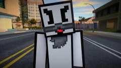 Dmitri - Stickmin Skin from Minecraft v2 para GTA San Andreas