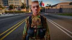 Blonde Army Soldier (Low-Poly) para GTA San Andreas