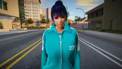DOA Nyotengu Fashion Casual Squid Game N236 para GTA San Andreas