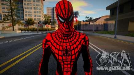 Spiderman Web Of Shadows - Red Crystal Suit para GTA San Andreas