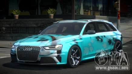 Audi RS4 U-Style S6 para GTA 4