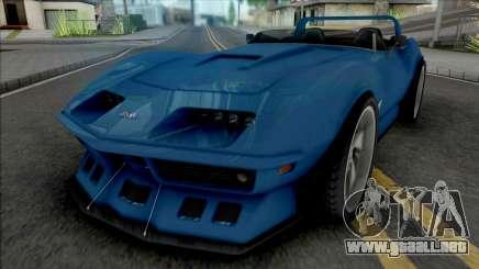 Chevrolet Corvette C3 Roadster Concept Custom para GTA San Andreas