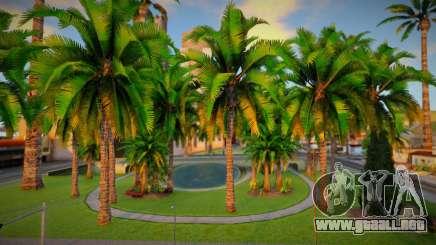 Vegetation (Mania Paradise Project) para GTA San Andreas
