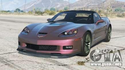 Chevrolet Corvette ZR1 (C6) 2009〡add-on v4.0 para GTA 5