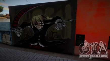 Soul Eater (Some Murals) 7 para GTA San Andreas