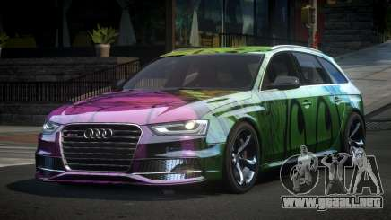 Audi RS4 U-Style S7 para GTA 4