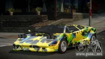 Lamborghini Countach 25th S1 para GTA 4