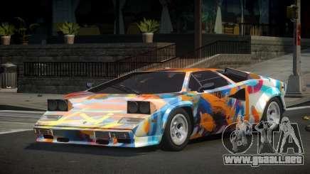 Lamborghini Countach Qz S2 para GTA 4