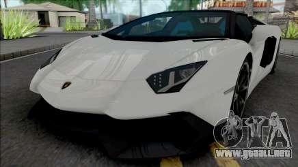 Lamborghini Aventador LP720-4 Roadster para GTA San Andreas