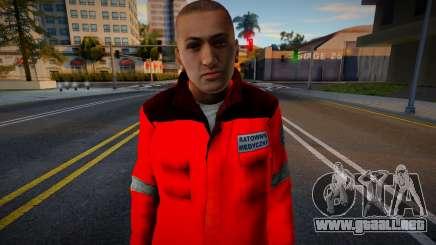 Polscy Ratownicy Medyczni - Paczka 3 para GTA San Andreas