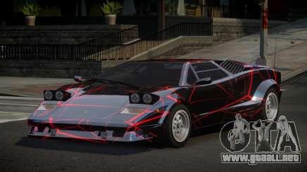 Lamborghini Countach 25th S10 para GTA 4