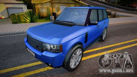 Range Rover Sport (good model) para GTA San Andreas