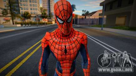 Spiderman Web Of Shadows - Red and Blue suit para GTA San Andreas