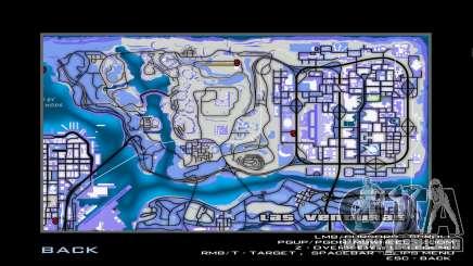 Blue map para GTA San Andreas