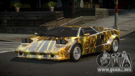 Lamborghini Countach 25th S4 para GTA 4