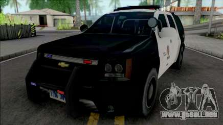 Chevrolet Tahoe 2008 LAPD para GTA San Andreas