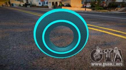 Blue Tron Legacy - Knuckle para GTA San Andreas