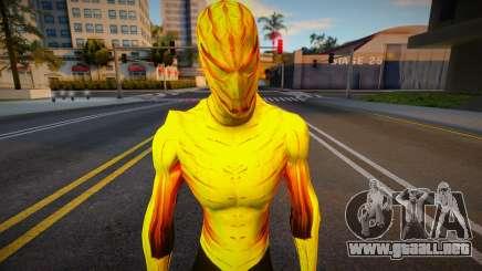 Spiderman Web Of Shadows - Fire Suit para GTA San Andreas