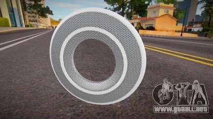 White Tron Legacy - Knuckle para GTA San Andreas