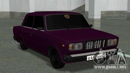 VAZ 2107 Ópera 154 RUS para GTA San Andreas