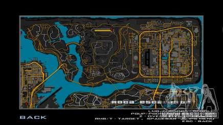 Orange Map (GTA IV Style) para GTA San Andreas